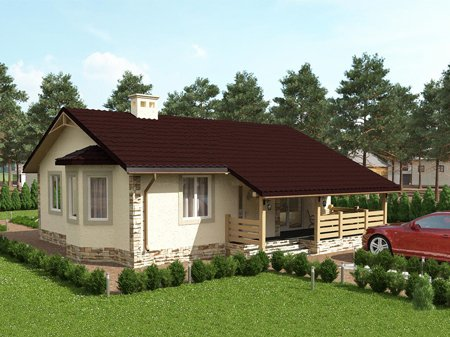 Жилой дом в СТ «Вишенка»