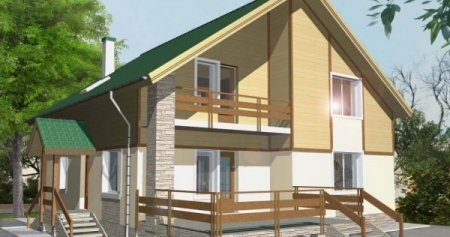 Проект кирпичного дома 150-200 №4