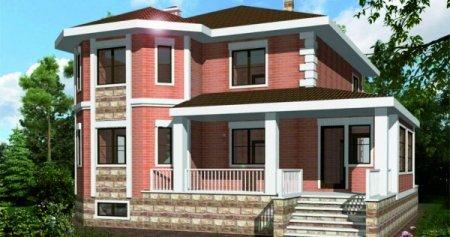 Проект дома 150-200 дома из газобетона в Севастополе
