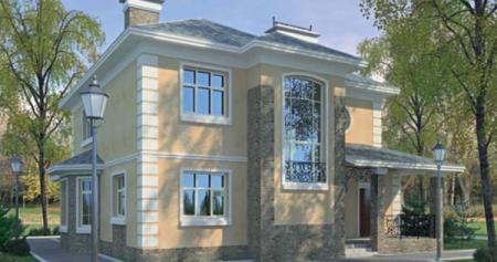 Проект кирпичного дома 150-200 №9