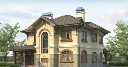 Проект кирпичного дома 150-200 №11