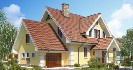 Проект кирпичного дома 150-200 №12