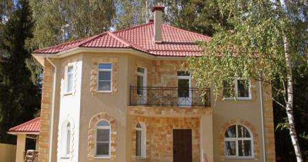 Проект кирпичного дома 150-200 №13