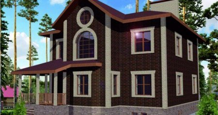 Разработка архитектурного проекта. Проект дома из пеноблока от 130 м.