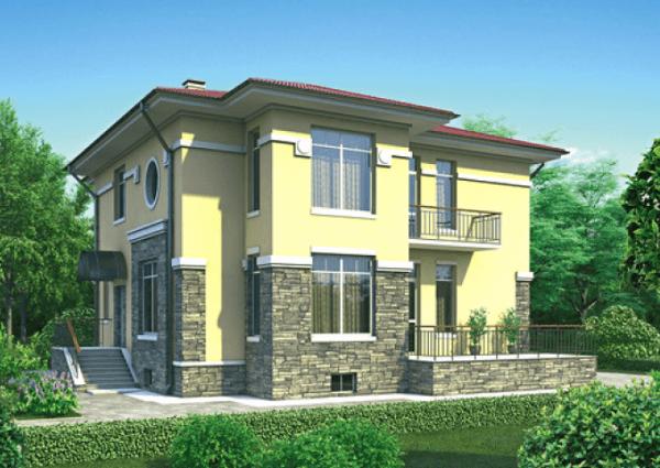 Проект дома из пеноблока от 130 №2