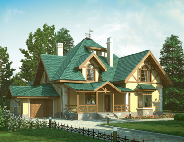 Проект дома из пеноблока от 230 №2