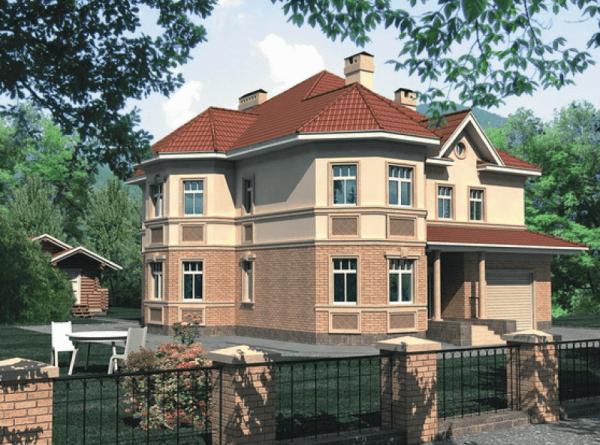 Проект дома из пеноблока от 230 №3