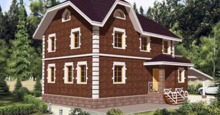 Проект дома из пеноблока 100-150 №4