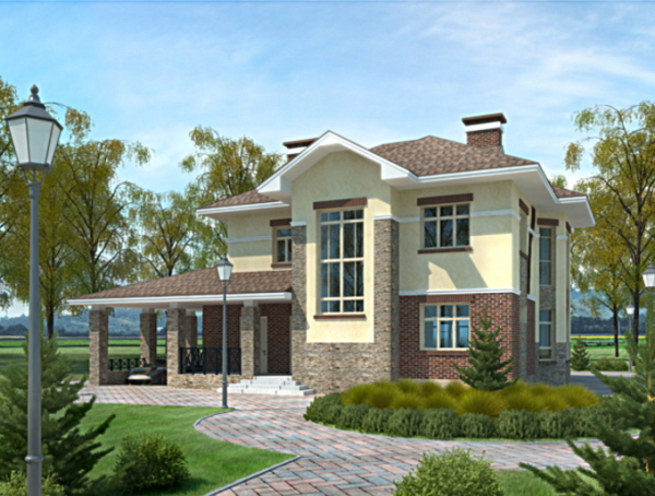 Проект дома из пеноблока от 130 №6