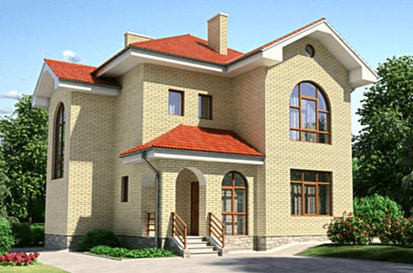 Проект дома из пеноблока от 130 №7