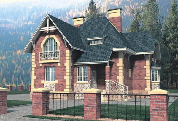 Проект дома из пеноблока 100-150 №13