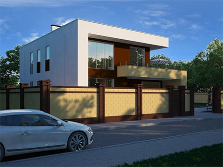 Жилой дом по ул. Крейсерская