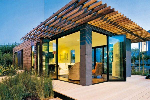 Строительство частного дома с металлическим каркасом