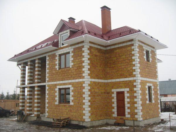Строительство домов из лего-кирпича