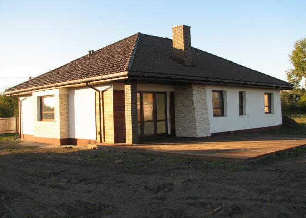 Одноэтажные загородные дома: плюсы и минусы