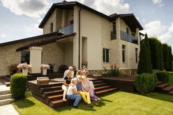 Загородные дома и их разновидности