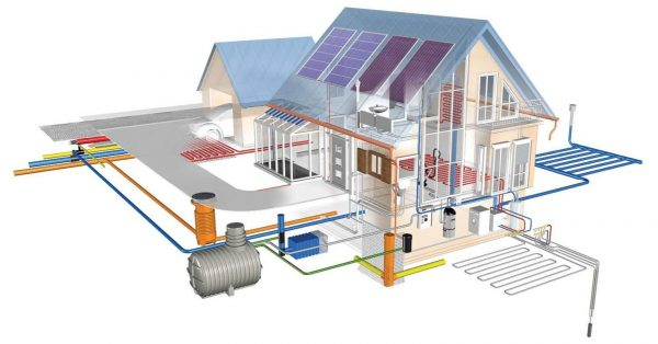 Проектирование системы отопления загородного дома