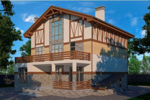 Жилой дом в Вязовой роще – строительство коттеджей в Севастополе