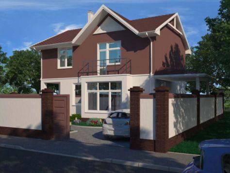Жилой дом по ул. Симферопольская – как построить свой дом в Крыму?