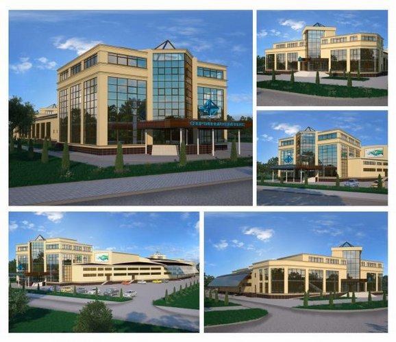 Спортивный комплекс завода ЕвроХим г. Белореченск