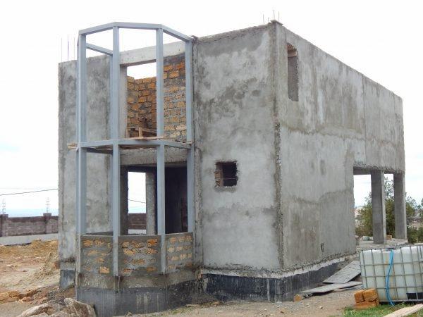 Строительство частного дома 195 м2 в СТ Бриз г. Севастополь