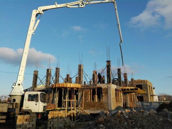 Строительство частного дома 800 м2 по ул. Челнокова, г. Севастополь