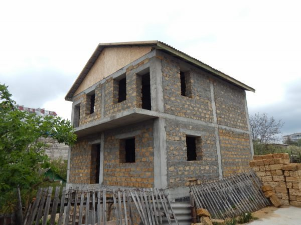 Строительство частного дома 232 м2 по ул. Джанкойской г. Севастополь