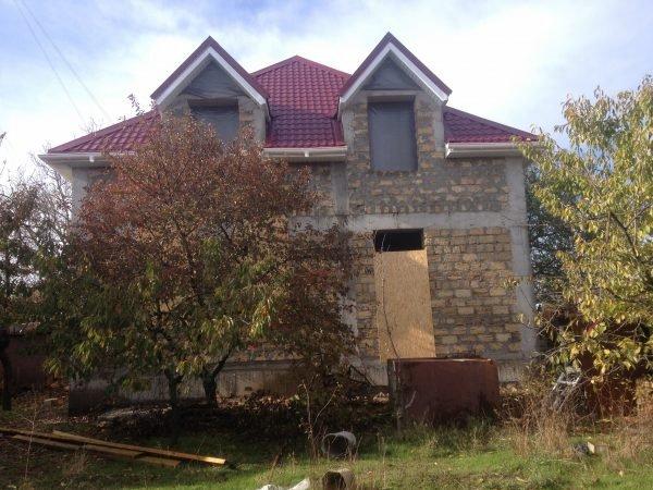 Строительство частного дома 240 м2 в СТ Мичурино г. Севастополь