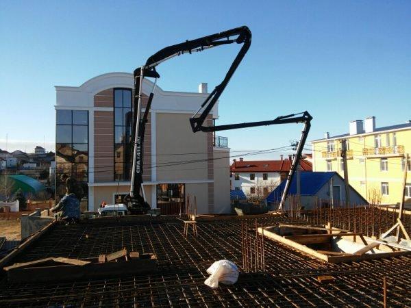 Строительство частного дома 460 м2 в Вязовой Роще СТ Мираж г. Севастополь