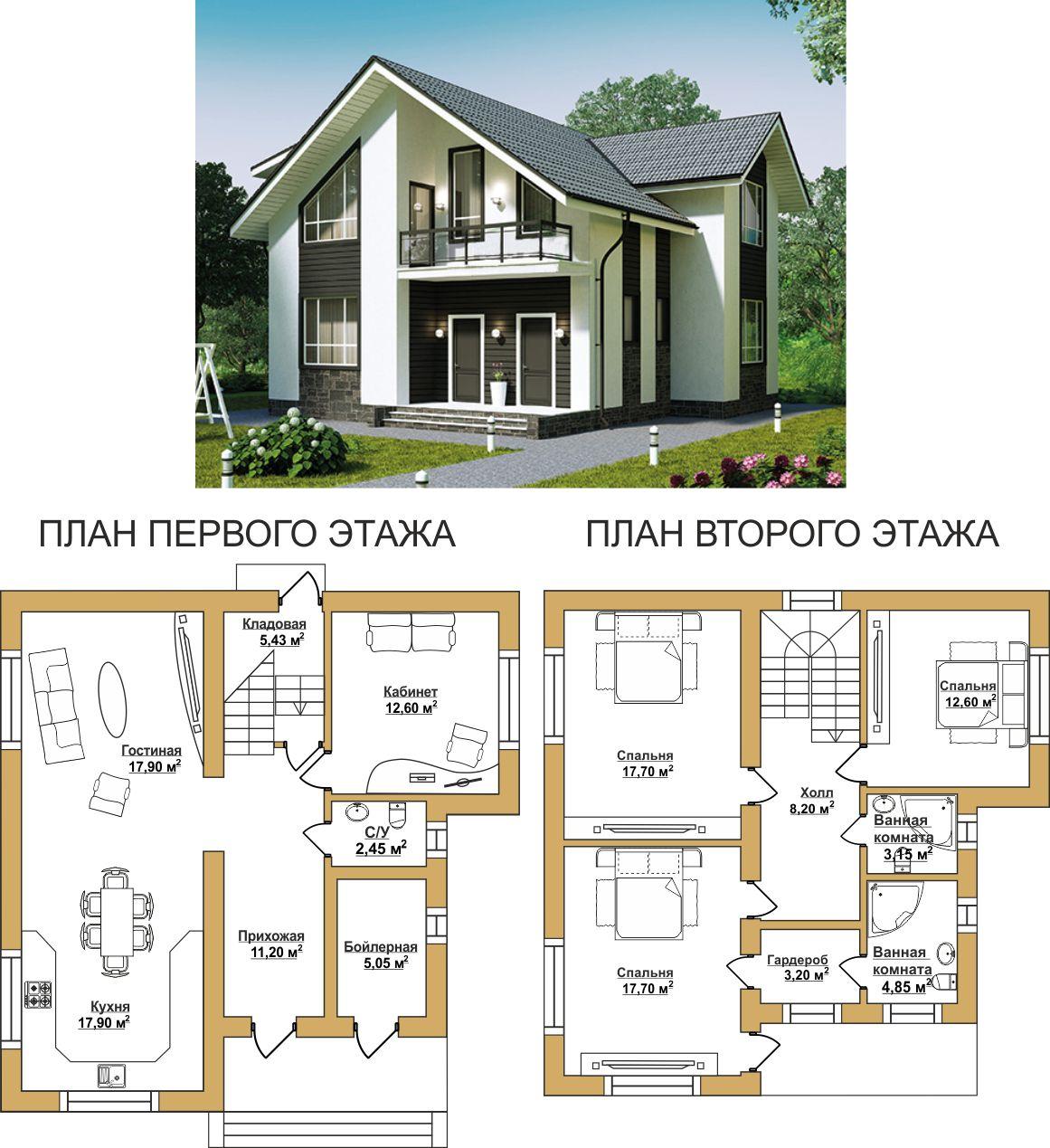 Дома из газобетона в Севастополе.