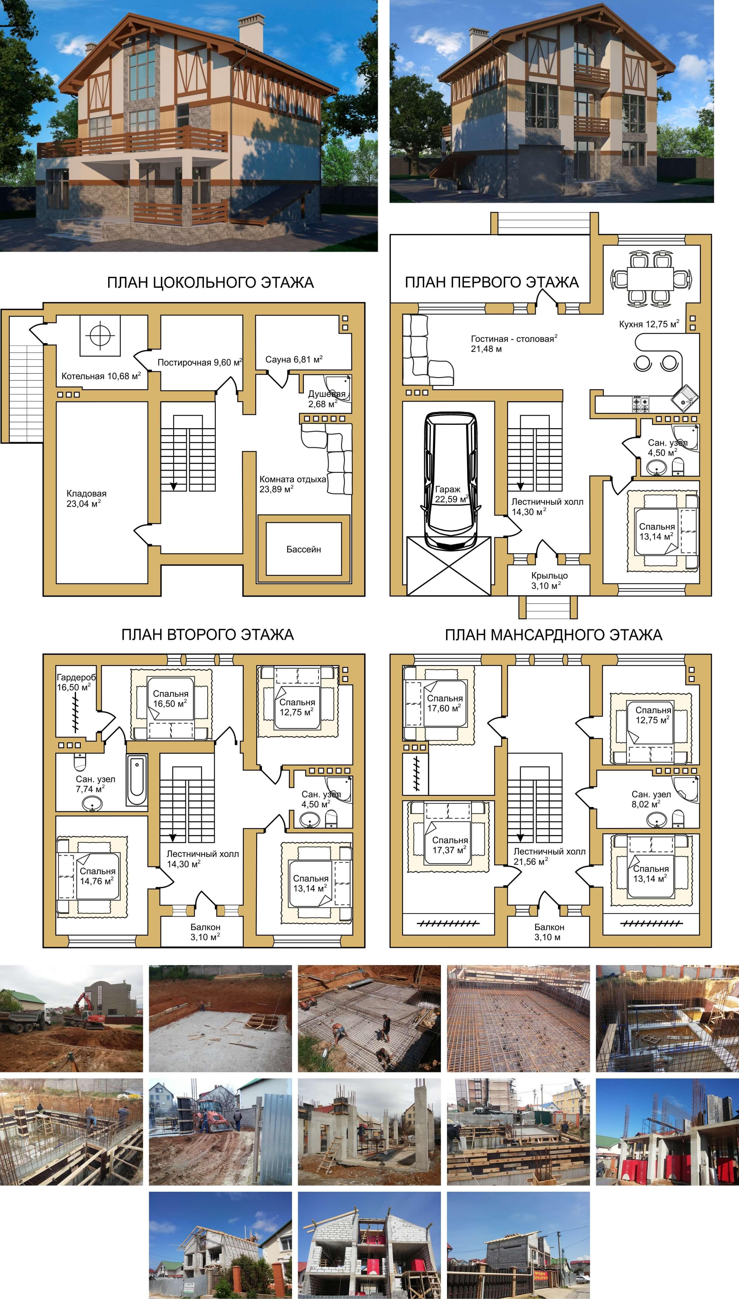 Строительство коттеджей в Севастополе
